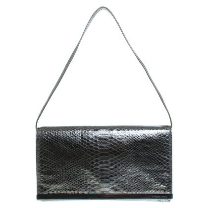 Michael Kors Clutch im Reptil-Look