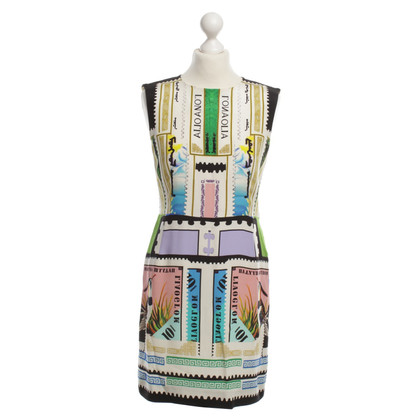 Mary Katrantzou Cocktail dress pattern