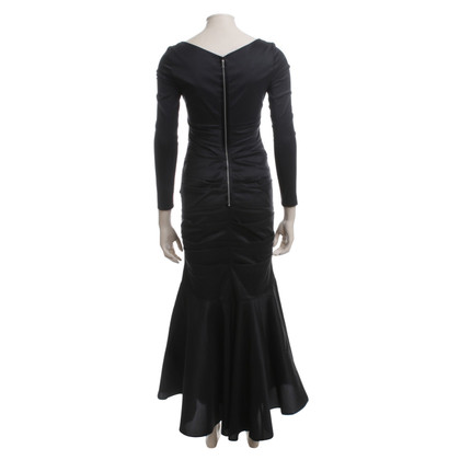 Talbot Runhof Evening dress with drap age