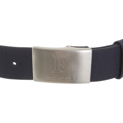 Escada Waist belt with flag motif
