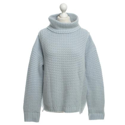 Iris von Arnim Blu chiaro maglione di cashmere