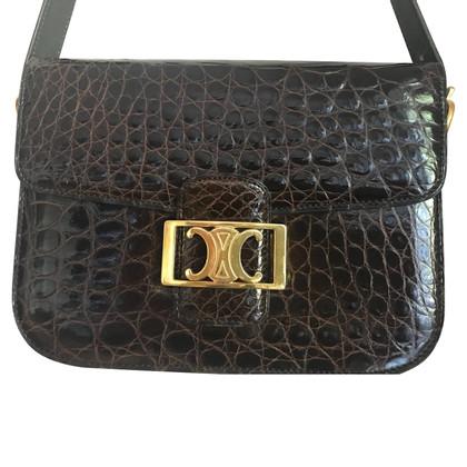 Céline Shoulder bag made of crocodile leather