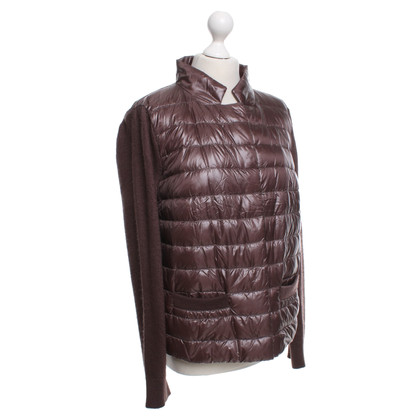 Other Designer Herno Quilted Jacket in Brown