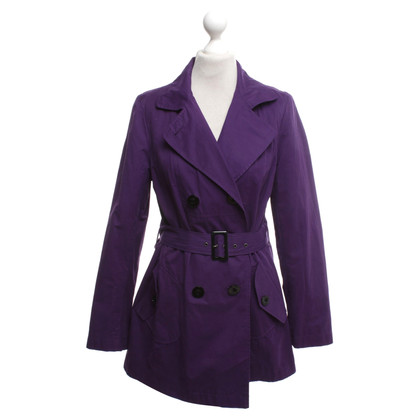 Hobbs Coat in violet