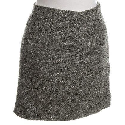 Sandro Bouclé miniskirt
