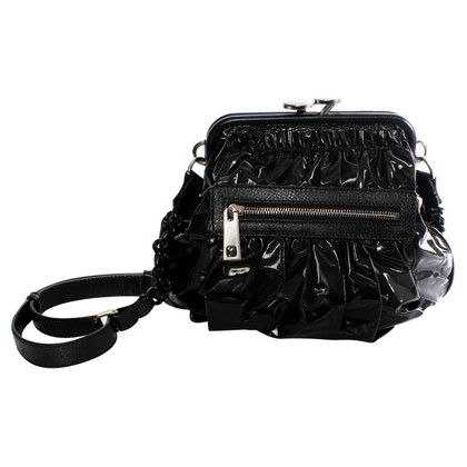 Marc Jacobs black shiny bag