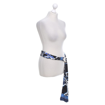 Emilio Pucci Fabric belt with pattern