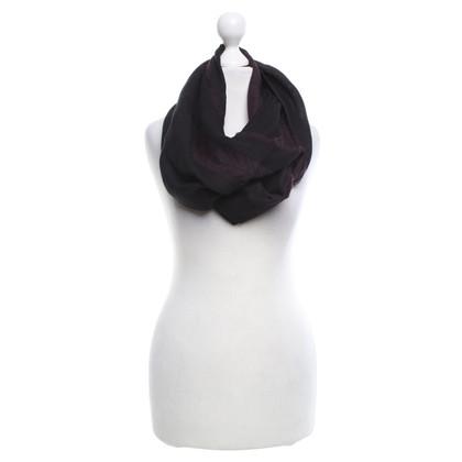 Alexander McQueen Echarpe en noir / violet