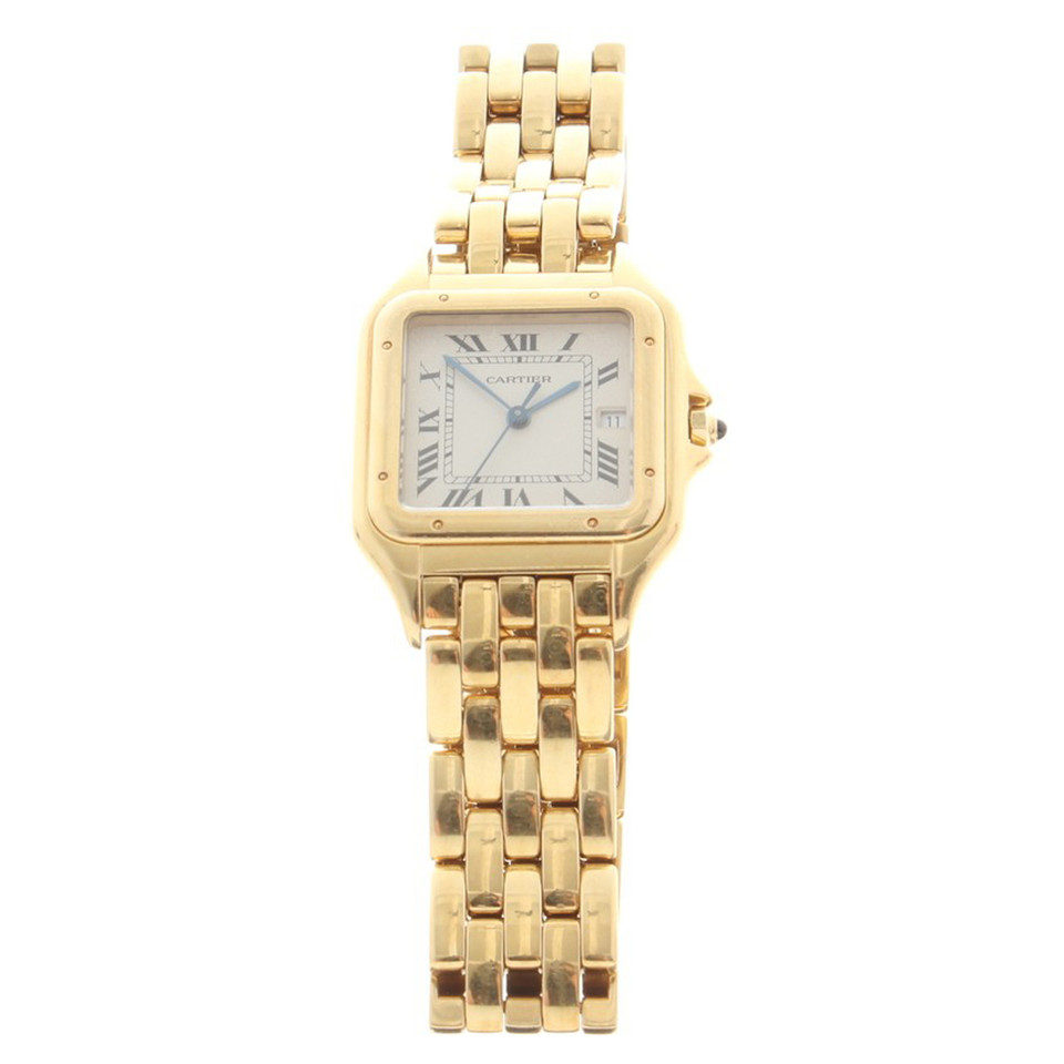 cartier golden panther wrist watch buy second hand cartier golden panther wrist watch for. Black Bedroom Furniture Sets. Home Design Ideas