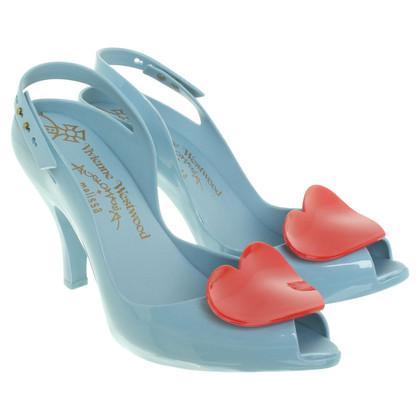 Vivienne Westwood peeptoes plastica