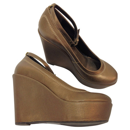 René Lezard Plateau Wedges