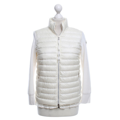Moncler Sportive jacket in cream