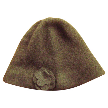 Barbour Cappello con fiore applicato
