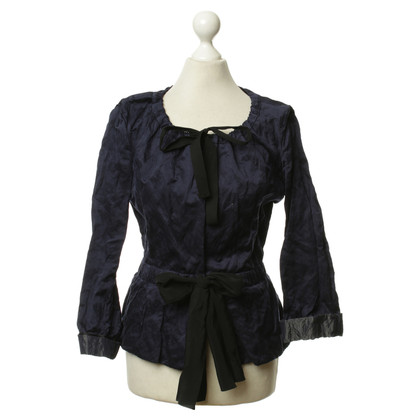 Prada Blouse in dark blue