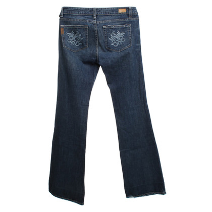 Paige Jeans Distressed Jeans in Blue