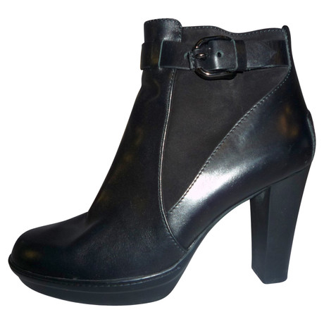 Tod's Ankle Boots Schwarz