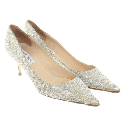 Jimmy Choo Silver colored pumps