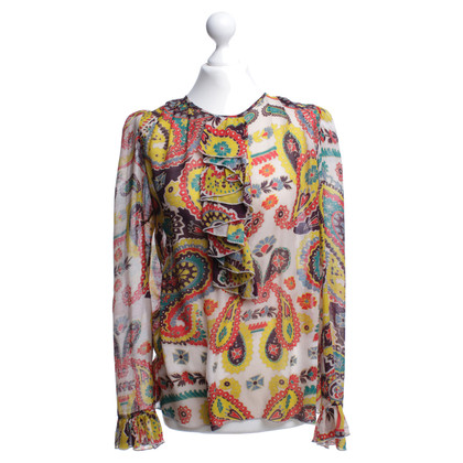 Paul & Joe Colorful patterned blouse