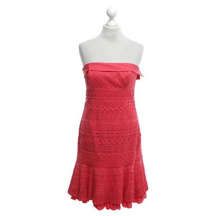 Karen Millen Kleid in Korallrot