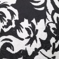 Ralph Lauren Zijden rok in zwart / wit