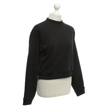 Acne Short pullover in black