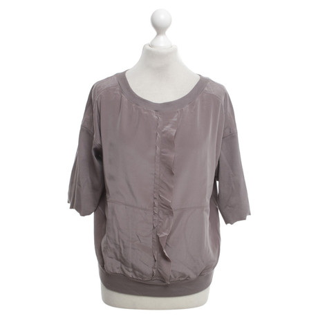 Marc Cain Blusen-Shirt in Taupe Taupe