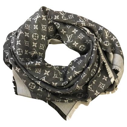 Louis Vuitton Monogram-Denim-Tuch in Schwarz