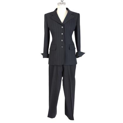Prada Prada vestito giacca in lana di grembiule