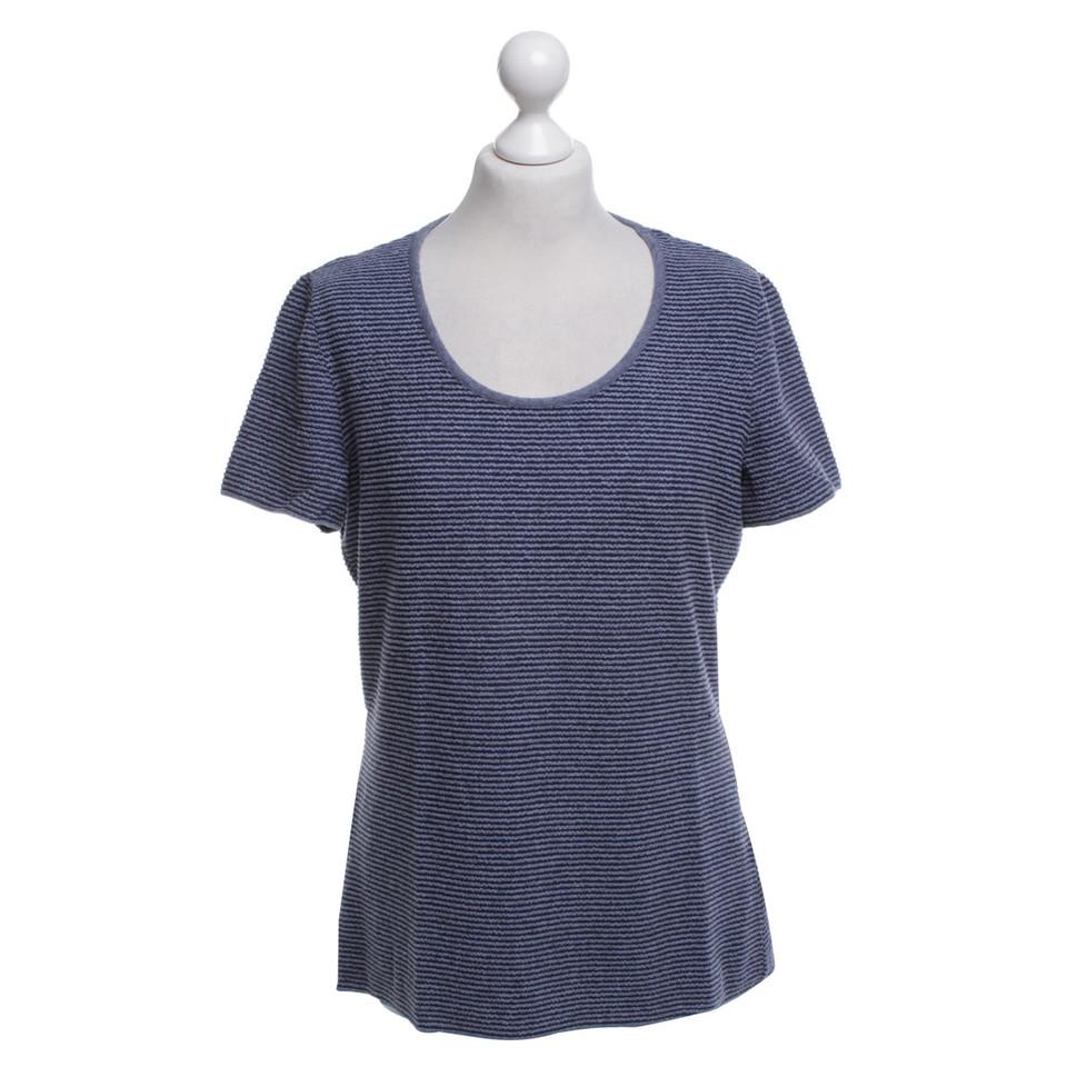 Armani Collezioni T-shirt in Blauw