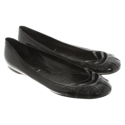 Sigerson Morrison Ballerina's in zwart