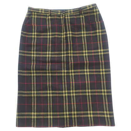 D&G skirt with checked pattern