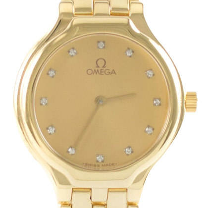 Omega De Ville Lady Quartz Or Diamants