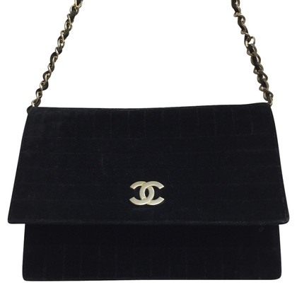 Chanel Vintage Flap Bag velvet