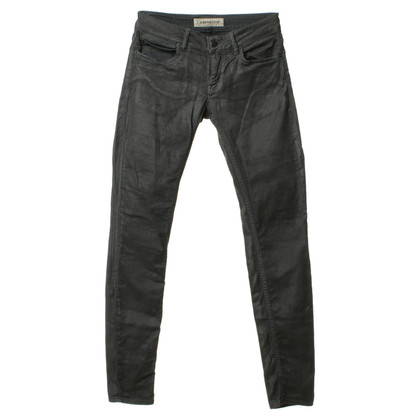 Drykorn Jeans color antracite con rivestimento