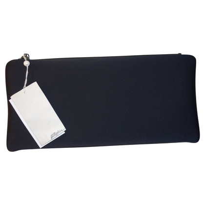 3.1 Phillip Lim Neoprene clutch in black