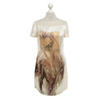 Just Cavalli Silk dress with eye-catching print