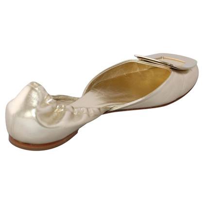 Roger Vivier Platinum ballerina