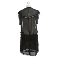 Set Kleid in Schwarz