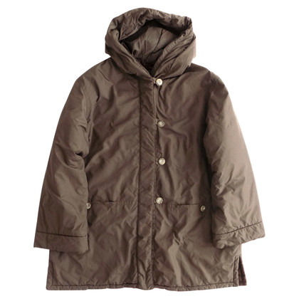 Max Mara Puffer jacket in khaki color