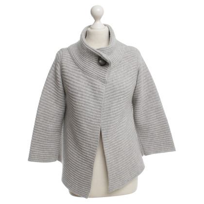 Hemisphere Knit cardigan in gray