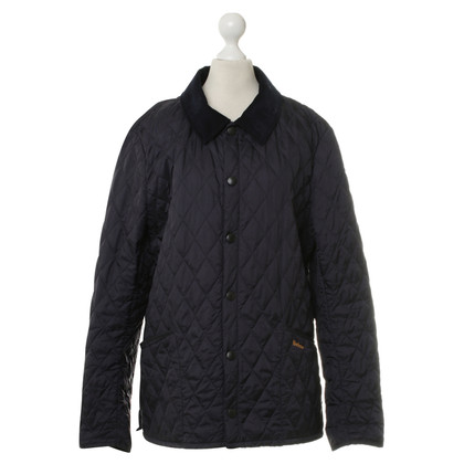 Barbour Steppjacke in Dunkelblau