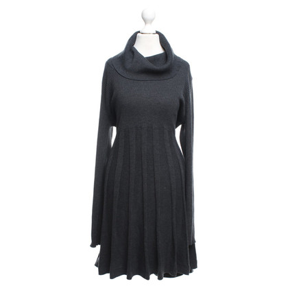 Calvin Klein Knitted dress in dark gray