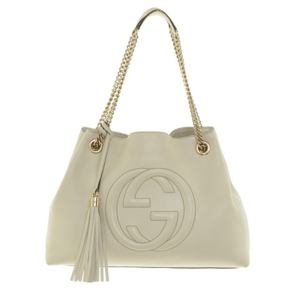 "Gucci ""Soho Tote Bag"" in crema"