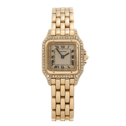 Cartier Panthere Gold mit Diamanten