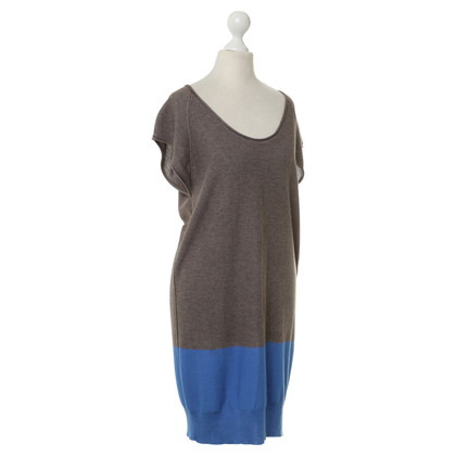 T by Alexander Wang Strick-Kleid in Taupe