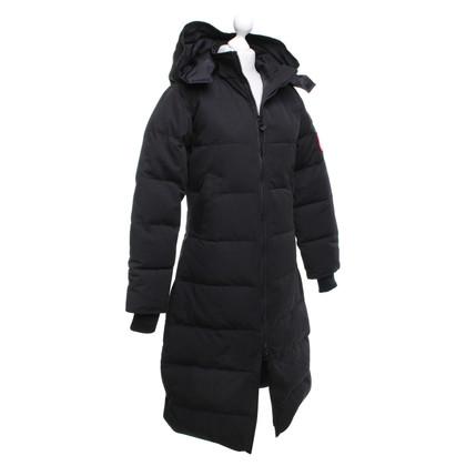 Canada Goose cappotto Down in nero