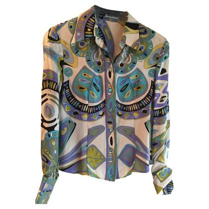 Emilio Pucci Zijden blouse