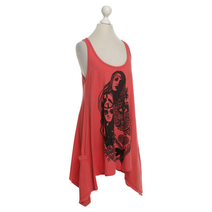 Lauren Moshi Top in red / black