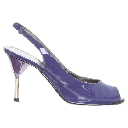 Marc by Marc Jacobs Peep-toes purple