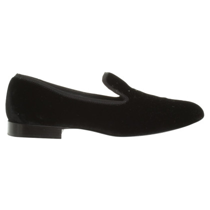 Céline Samtloafer in zwart